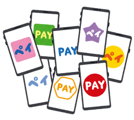 smartphone_app_pay_ranritsu-2-480x428 【電子決済】電子決済デビューしようと思うんだけど、何がおすすめなの?PayPayでいい?