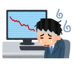 kabu_chart_man_cry-480x434 岸田総理「株で勝ってる投資家から中間層に分配する」俺たち底辺勝利へ