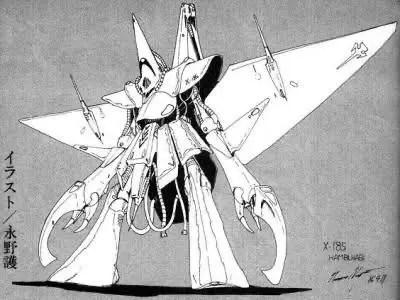 uFqdTvl 【ガンダム】『ハンブラビ』こう言う機体をかっこいいとか言っちゃうからガンダムおじさんて理解ができないんだよね..