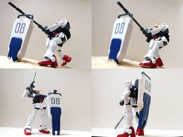 VmsXsUl 【ガンダム】第MS08小隊のOPで盾に銃載せて撃つシーンって
