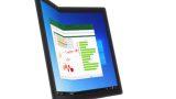 fe801995eb767663edaf4daa00bb52f8 【PC】画面を折りたためる世界初のPC「ThinkPad X1 Fold」、10月13日発売へ