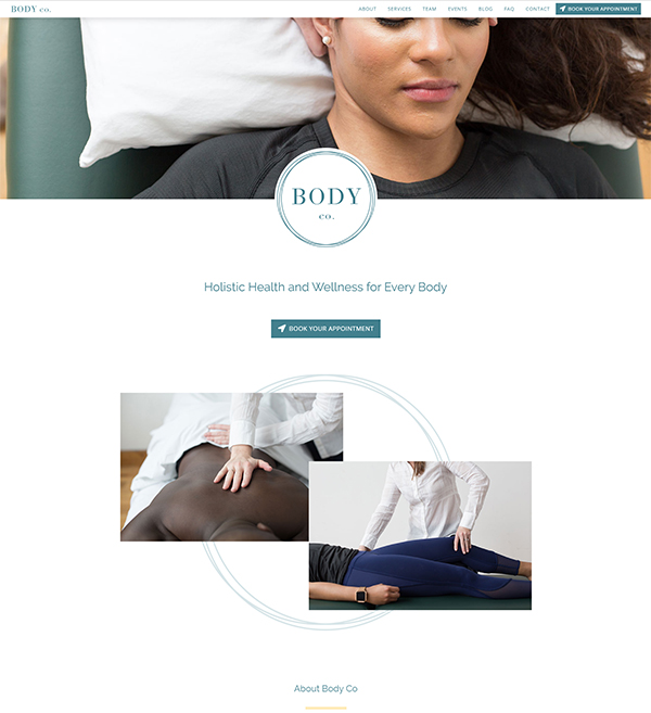 Body Co Website