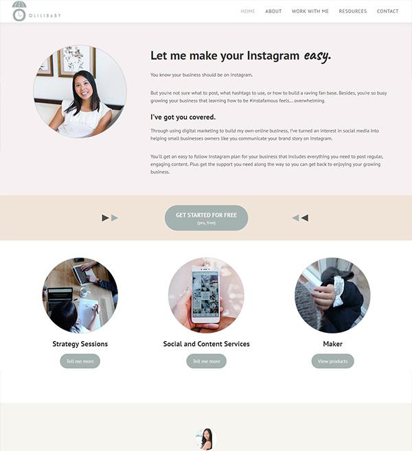 Olilibaby Website