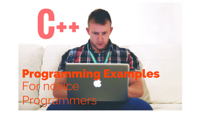 C++ programming examples for beginers