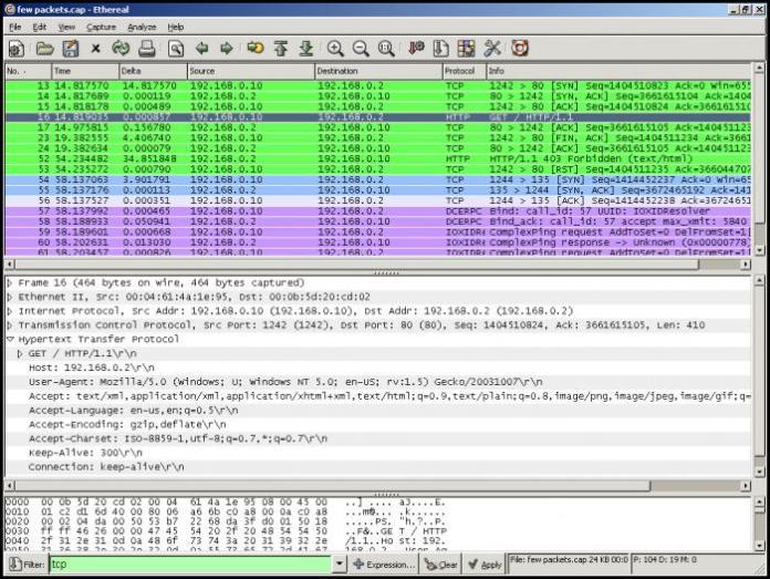 wireshark hacking tools beginners