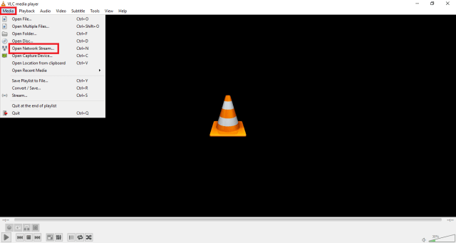 play youtube videos with Vlc