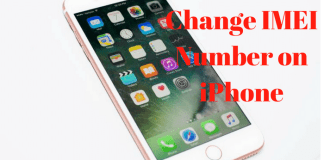 How to change IMEI number on iPhone