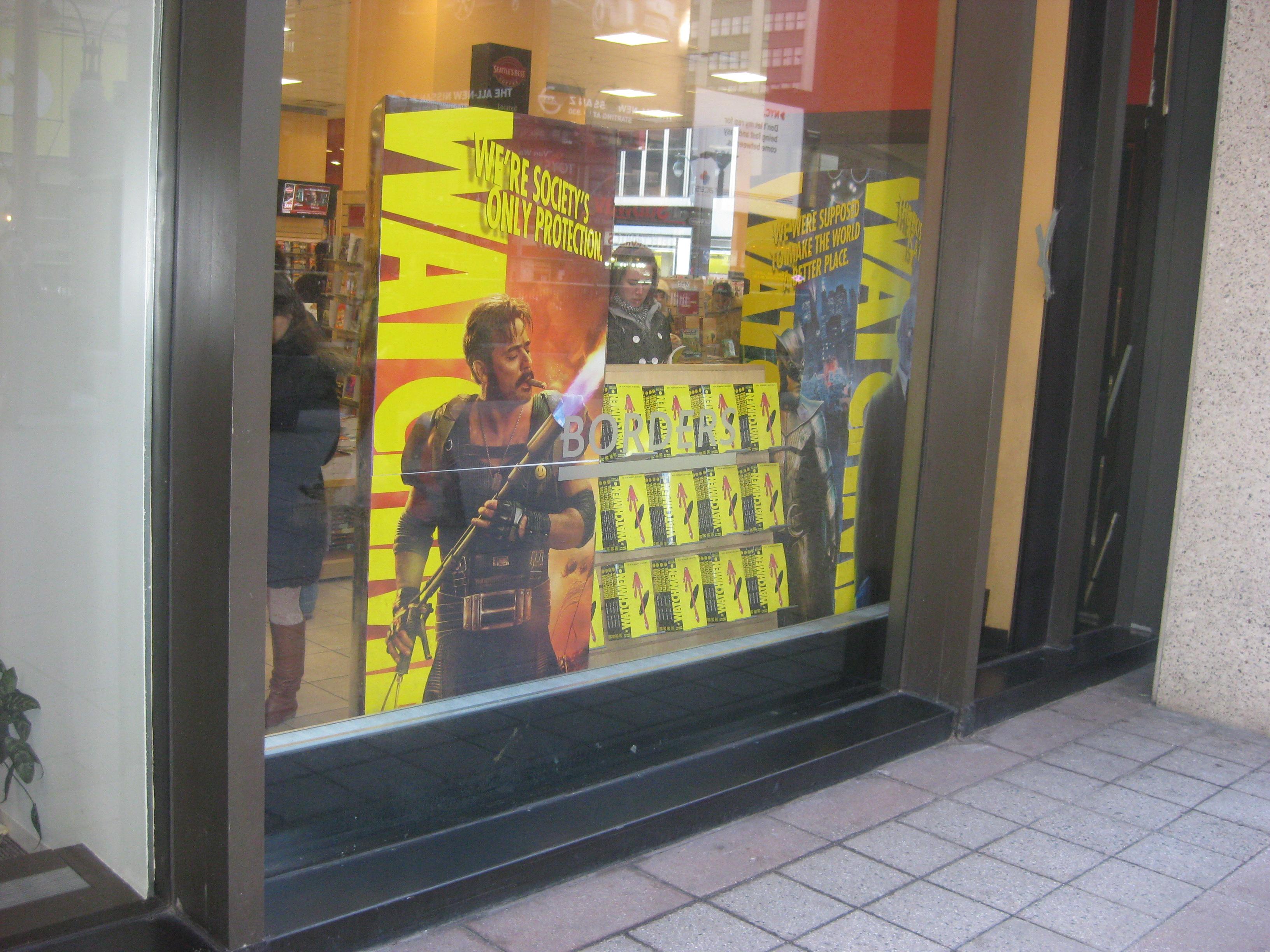Watchmen Display Borders