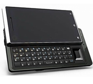 It has an iPhone look complete with touch screen, but it also has a slide out QWERTY keyboard (WIN)