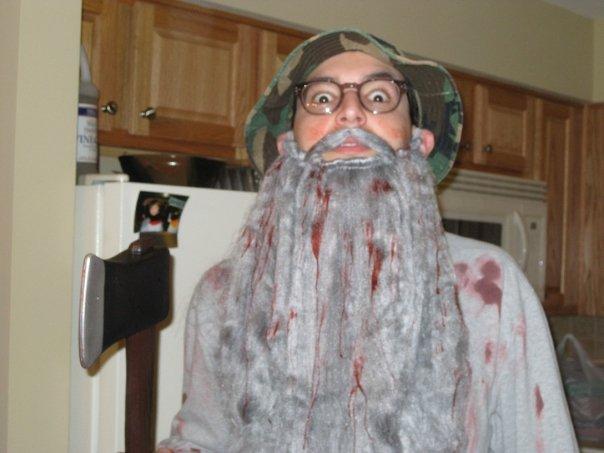 Axe Murderer Costume 2