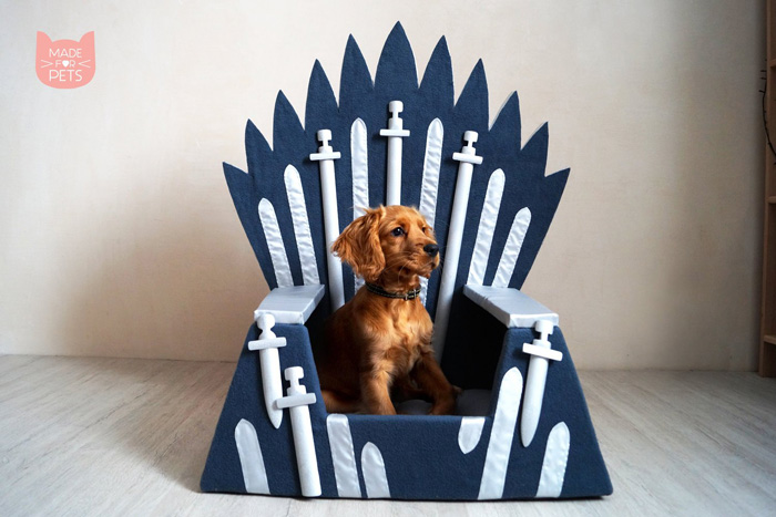 Game of Thrones Iron Throne Pet Bed