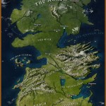 High Res Map Of Westeros From Game Of Thrones