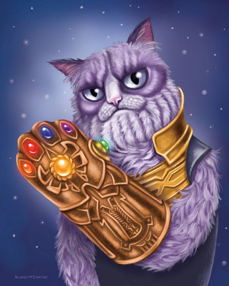 Geeky Cat Fan Art