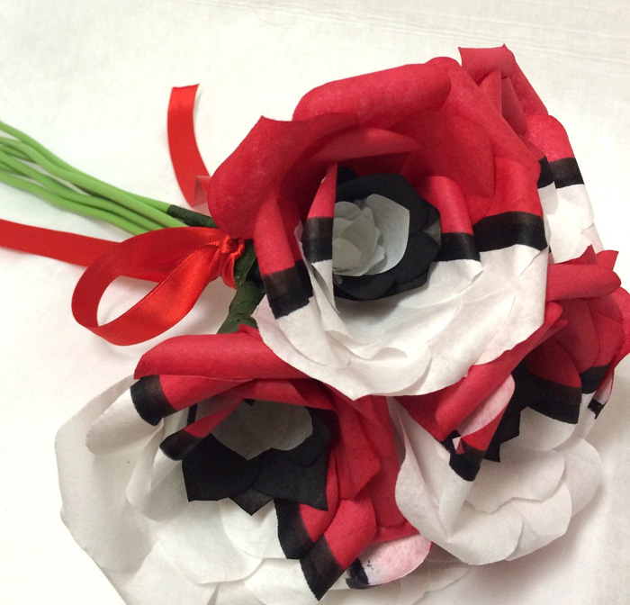 Pokemon Pokeball Roses
