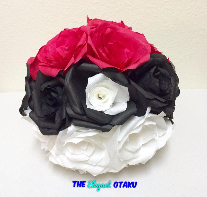 Pokemon Pokeball Roses
