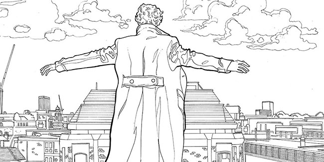 Sherlock: The Mind Palace Adult Coloring Book