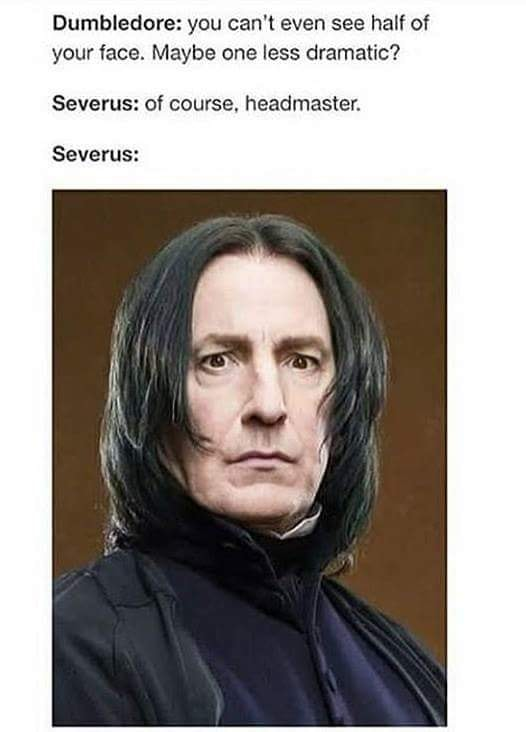 Severus Snape And The Possible Photoshoot