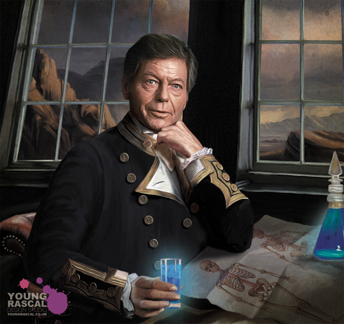 Star Trek Fan Art Naval Portraits