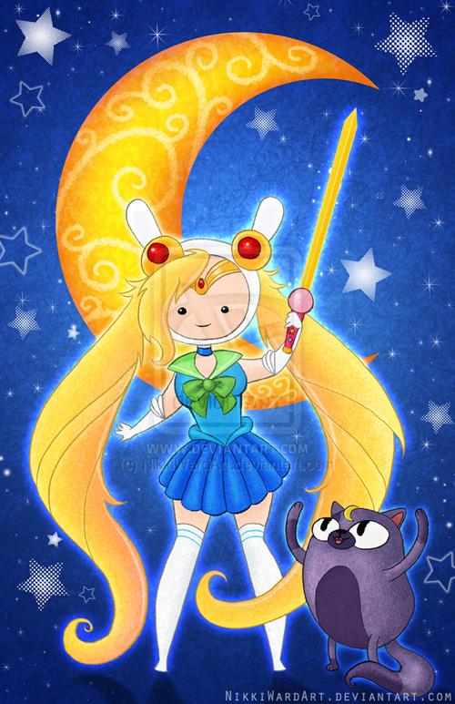 Adventure Time Mashup Fan Art