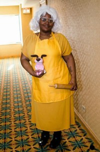 Courage the Cowardly Dog Cosplay