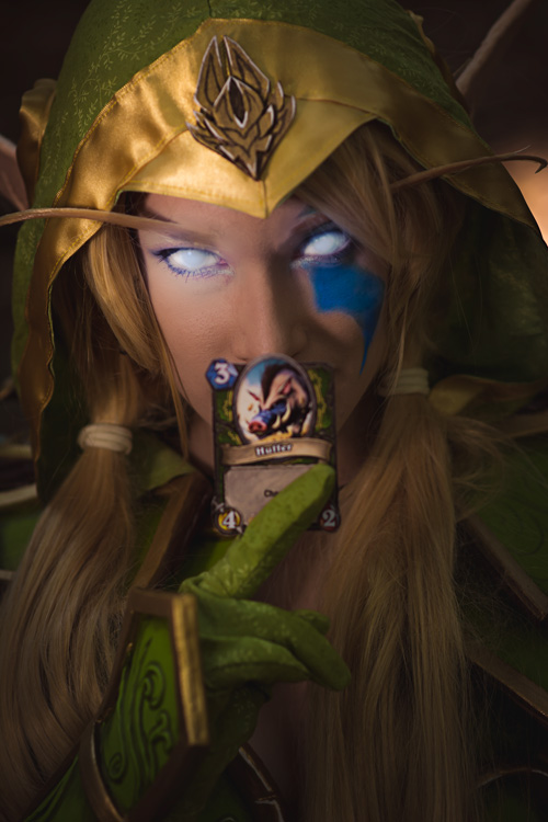 Alleria Windrunner from Hearthstone Heroes of Warcraft Cosplay