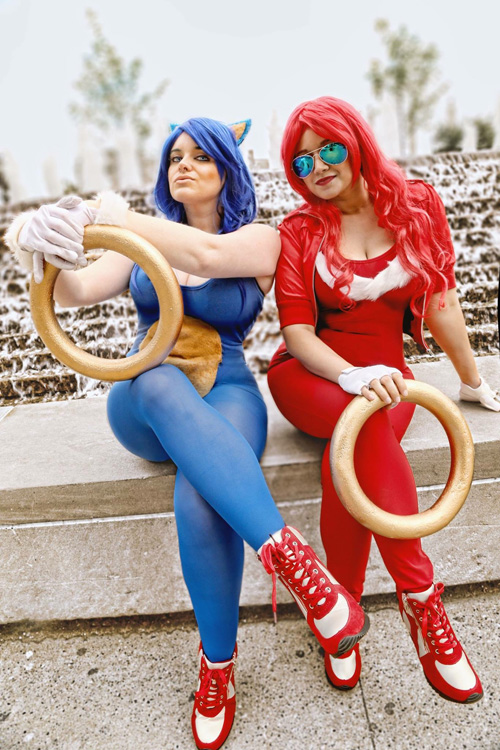 Sonic & Knuckles Cosplay