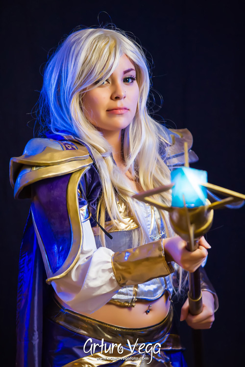 3d Wow Wallpaper Jaina Proudmoore From Hearthstone Heroes Of Warcraft Cosplay