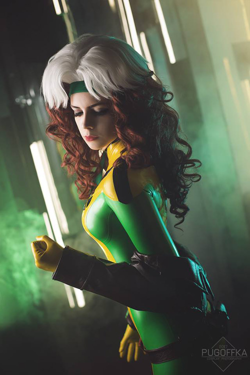 Rogue From X Men Cosplay