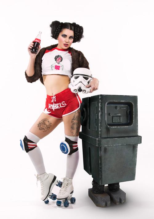 Star Wars 70s Retro Photoshoot
