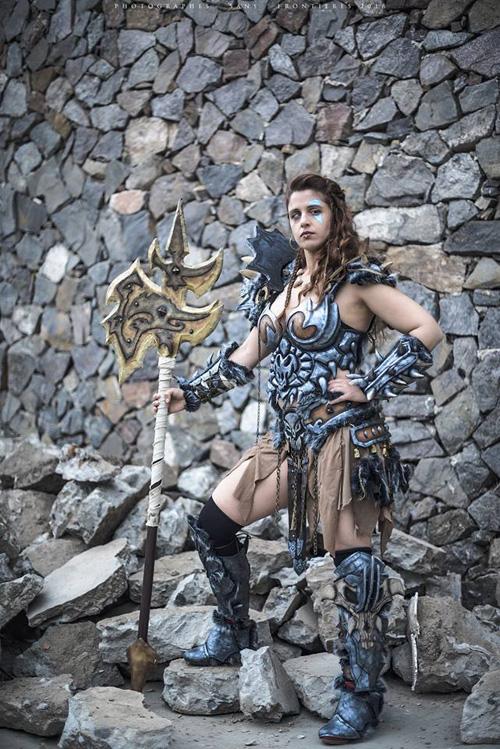 Barbarian from Diablo III Cosplay
