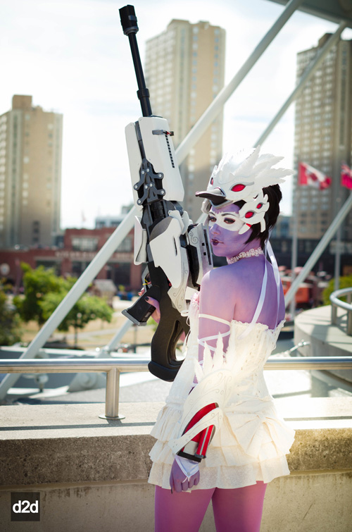 Widowmaker Odette from Overwatch Cosplay