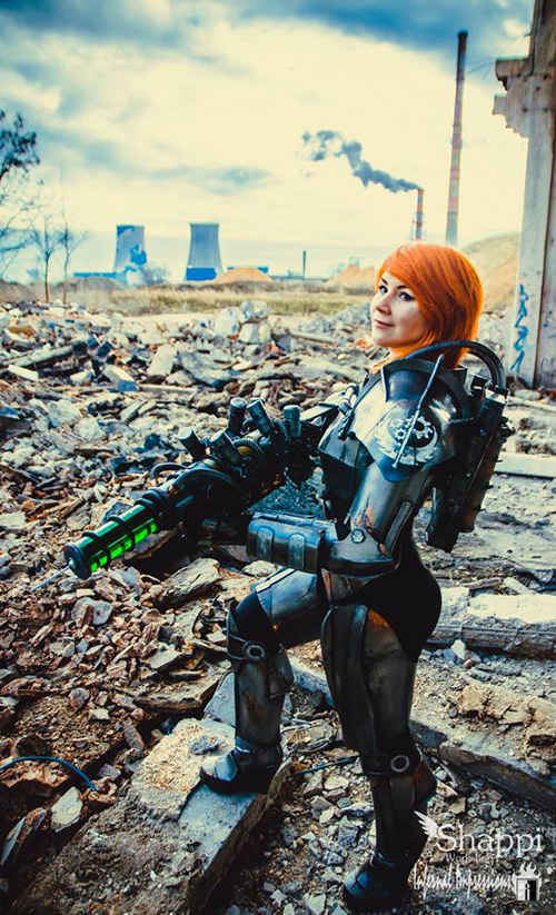 Fallout T45d Power Armor Cosplay