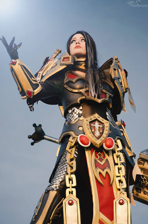 Lady Judgment Uther Cosplay