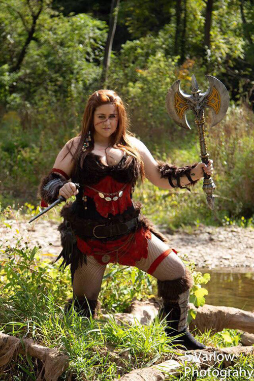 Barbarian Original Character Cosplay