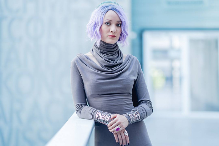 Vice Admiral Holdo from Star Wars The Last Jedi Cosplay