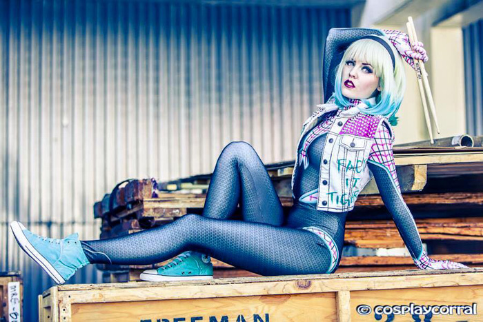 Punk SpiderGwen Cosplay