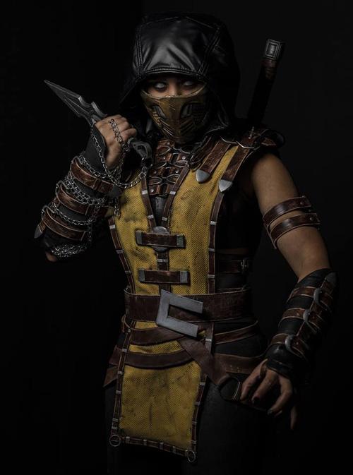 Scorpion from Mortal Kombat Cosplay