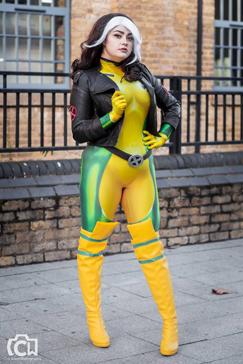 Rogue from XMen Cosplay