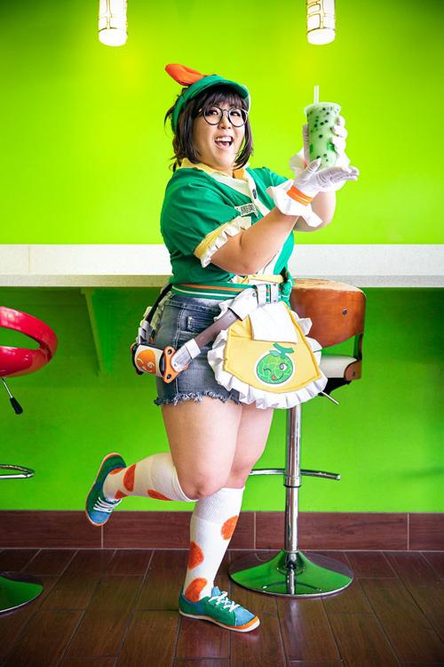 Honeydew Mei From Overwatch Cosplay
