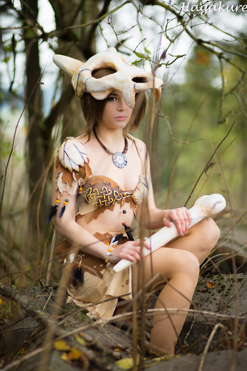 Cubone Gijinka Pokemon Cosplay