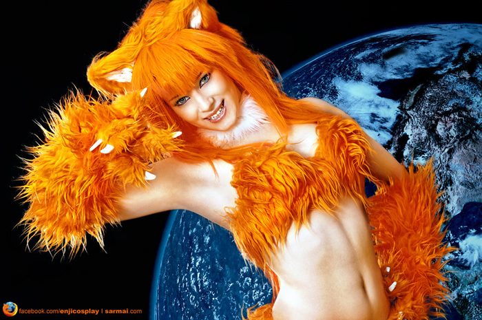 Animated Girly Wallpapers Sexy Firefox Cosplay