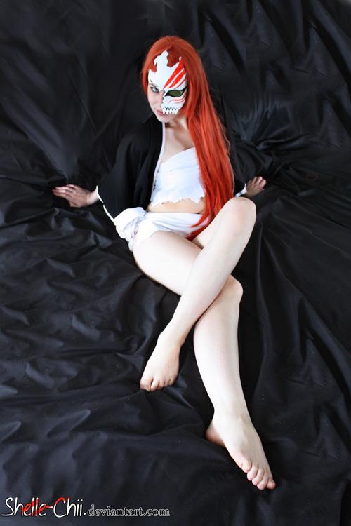 Wallpaper Geek Girl Hollow Ichigo Cosplay