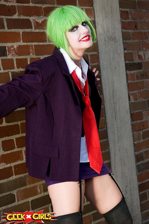 Sexy Lady Joker Cosplay