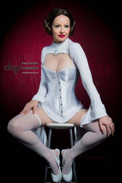 Burlesque Princess Leia Photoshoot