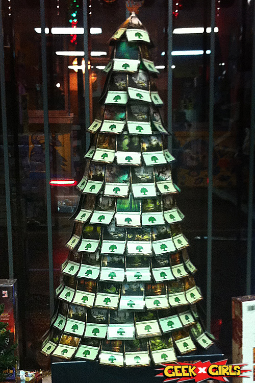 Magic The Gathering Christmas Tree