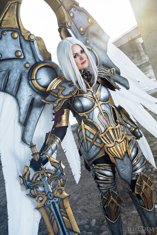 Anime Wallpaper Cool Uriel From Darksiders Cosplay