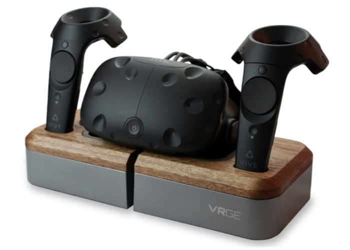 Vrge Virtual Reality Hardware Charging Dock Funded With