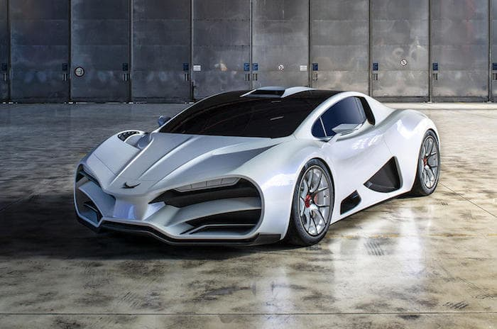 Milan Red Hypercar Comes With 1325 Horsepower  Geeky Gadgets