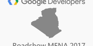 google developers roadshow mena 2017 algeria