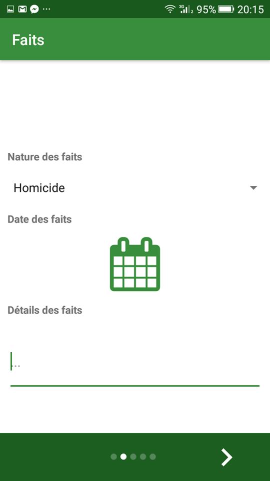 gendarmerie algérie application